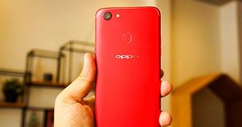 Oppo trình làng phiên bản F5 màu đỏ, trang bị 6 GB RAM