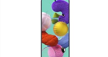 """Lộ hình ảnh render của Galaxy A51 với màn hình """"đục lỗ"""""""