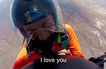 Video ngỏ lời cầu hôn ở độ cao 3.000 mét