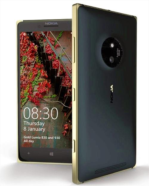 Lumia 830 và Lumia 930 sang trọng hơn với phiên bản Gold Edition
