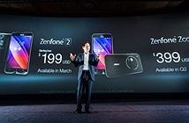 Giá bán dự kiến của bộ đôi ZenFone mới tại thị trường Việt Nam