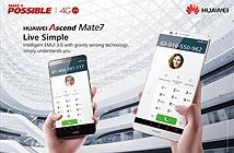 Huawei Ascend P7 - Huawei Ascend Mate7 đã có mặt tại Việt Nam