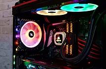 Corsair khoe bộ đôi tản nhiệt Hydro lung linh với đèn LED RGB
