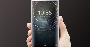 Sony giới thiệu loạt smartphone selfie mới tại CES 2018