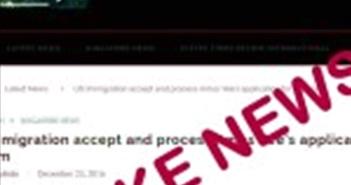 Singapore nghiên cứu thành lập ủy ban chống tin tức giả mạo