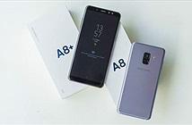 Mở hộp Galaxy A8 và A8+ chính hãng: thiết kế cao cấp, màn hình đẹp, camera selfie kép