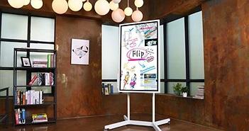 Samsung Flip - bảng điện tử 55 inch cho thảo luận hay trình chiếu