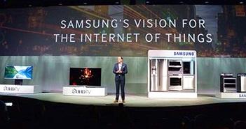 Samsung hiện thực hóa kết nối IoT thông minh tới các thiết bị và dịch vụ