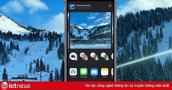 Hướng dẫn ẩn vị trí ảnh chụp trên iPhone, iPad