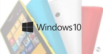 Chỉ vài smartphone Lumia được lên đời với Windows 10