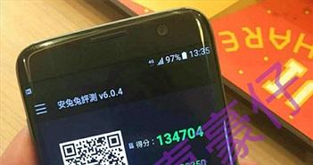 Galaxy S7 edge lộ ảnh thực tế với điểm hiệu năng khủng