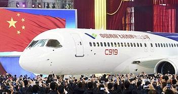 """Máy bay """"made in China"""" sắp cất cánh lần đầu"""