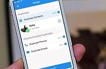 Thủ thuật iOS 11: Cách liên kết hoặc xóa địa chỉ liên hệ trùng lặp trên iPhone