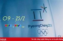 Lịch tường thuật trực tiếp các môn thi đấu tại Olympic Pyeongchang 2018 trên VTV6