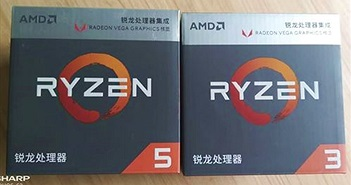 Hé lộ hiệu năng CPU AMD Ryzen 3 2200G và Ryzen 5 2400G