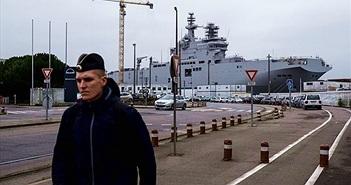 [ẢNH] Thăm nơi đóng tàu đổ bộ chở trực thăng lớp Mistral cho Nga