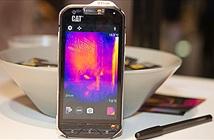Trên tay CAT S60: điện thoại vẽ bản đồ nhiệt, chống nước 5m