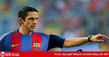 """Dân mạng chế trọng tài """"mặc áo"""" Barcelona trong trận ngược dòng 6-1 trước PSG"""