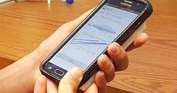 Smartphone có thể đo huyết áp từ ngón tay của người bệnh