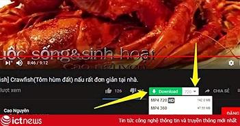 Hướng dẫn thêm nút Download cho video trên YouTube, Facebook...