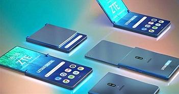 ZTE làm smartphone gập lại, đẹp hơn Galaxy Fold và Mate X?