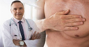 Tại sao đàn ông cũng có thể mắc ung thư vú?