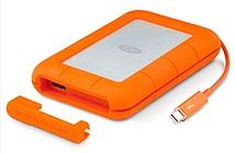 LaCie cập nhật dòng sản phẩm Rugged Thunderbolt với phiên bản SSD 1TB