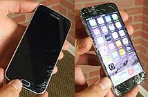 Thử nghiệm thả rơi Galaxy S6 và iPhone 6