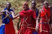 Bộ tộc kỳ quái, đàn ông phải ác chiến với sư tử mới cho tán gái