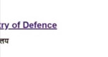 Website của Bộ Quốc phòng Ấn Độ bị tin tặc tấn công