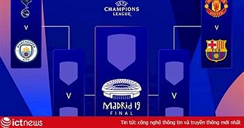 Lịch trực tiếp tứ kết Champions League 2019 tuần này