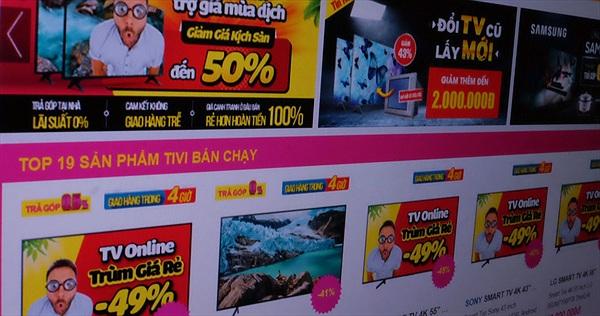 """TV giảm giá """"kịch sàn"""" trong bão dịch Covid-19"""