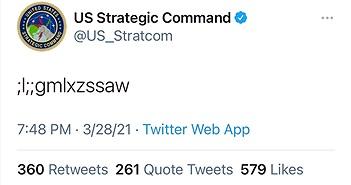 """""""Chủ mưu"""" đăng dòng tweet nghi làm lộ mã phóng vũ khí hạt nhân của Mỹ"""