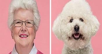 Ngắm loạt ảnh chân dung giống nhau kỳ lạ giữa chủ và thú cưng