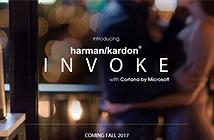 Harman Kardon ra mắt loa thông minh Invoke tích hợp trợ lý ảo Cortana