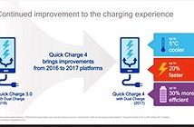 Qualcomm Quick Charge 4: Sạc 5 phút đủ dùng 5 tiếng