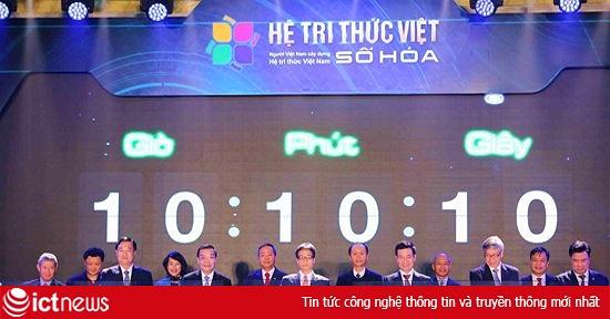 Phó Thủ tướng Vũ Đức Đam làm Trưởng Ban chỉ đạo Đề án Hệ tri thức Việt số hóa