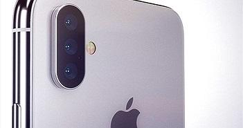 iPhone 2018 sở hữu camera sau với 3 ống kính?