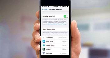 Apple sẽ cấm ứng dụng iPhone chia sẻ dữ liệu khi chưa được phép của người dùng