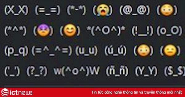 Cách gõ nhanh các biểu tượng cảm xúc Facebook bằng ký tự đặc biệt