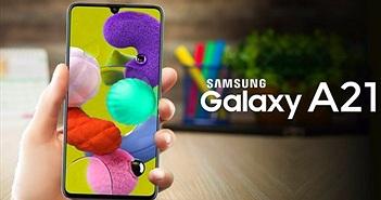Rò rỉ video quảng cáo Samsung Galaxy A21s hé lộ các tính năng chính