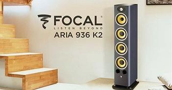 """Aria K2 936, thiết kế loa limited độc nhất của Focal sở hữu driver """"vàng"""" K2Power"""