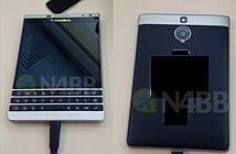 Rò rỉ ảnh thực tế của BlackBerry Oslo: màn hình vuông giống Passport, thiết kế viền kim loại mới
