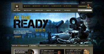 Tin tặc Syria đánh sập trang web của quân đội Hoa Kỳ