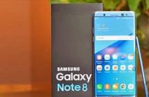 Galaxy Note 8 sẽ không tích hợp cảm biến vân tay vào màn hình
