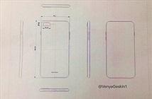 Rò rỉ bản vẽ tiết lộ kích thước của iPhone 7s và iPhone 8