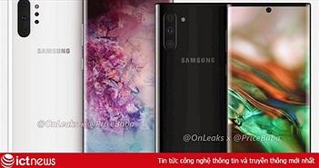 Samsung Galaxy Note 10 chính thức ra mắt ngày 10/8?