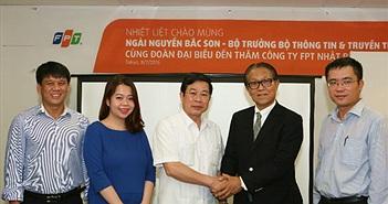 """Bộ trưởng Nguyễn Bắc Son: """"Có nhiều công ty như FPT sẽ nâng cao vị thế của Việt Nam"""""""