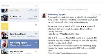 Chuyên gia FPT chỉ cách trị tin nhắn rác Facebook