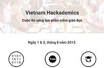 Vietnam Hackademics 2015: thi sáng tạo phần mềm giáo dục, diễn ra đầu tháng 8